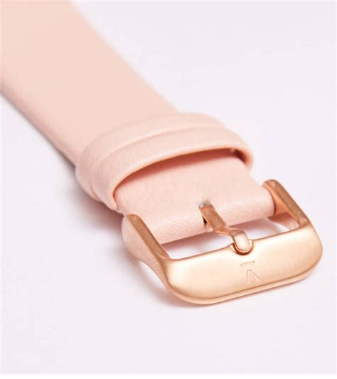 Ac 8490 Rosegold Pink Leather 1 pink and gold vegan leather by votch notonthehighstreet