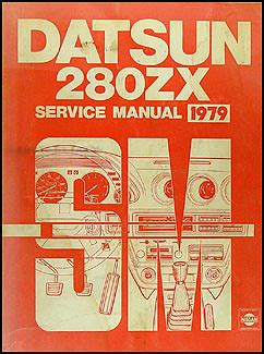 1979 datsun 280zx repair shop manual