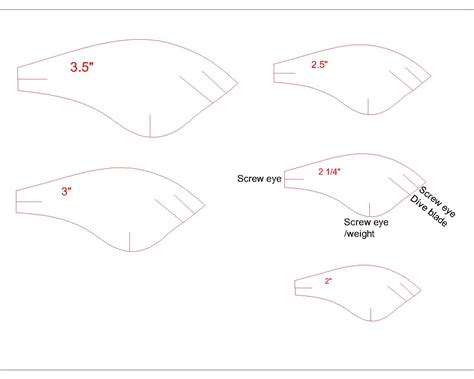 fishing lure templates pdf d baits 3 5 flat sided crankbaits confessions of a