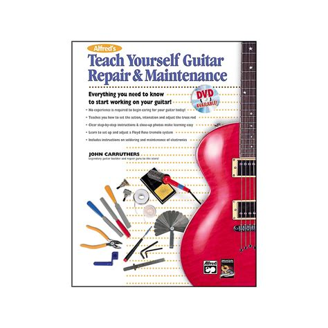 guitar book for beginners teach yourself how to play guitar songs guitar chords theory technique book lessons books alfred teach yourself guitar repair and maintenance book