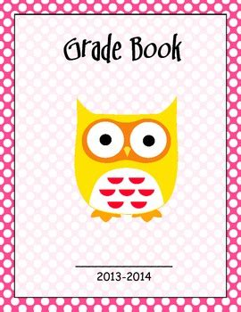 gradebook cover grade book cover page by maxwell teachers pay teachers