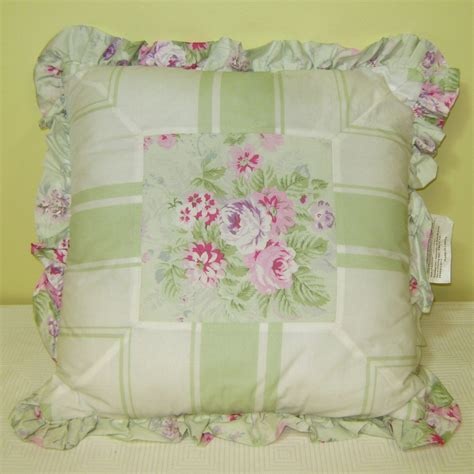 simply shabby chic bramble rose decorative throw pillows