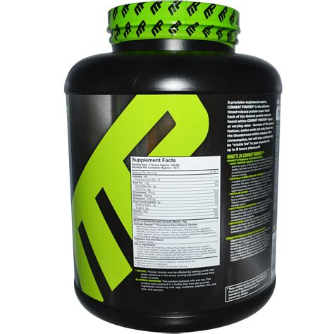 Combat Protein Powder Pharm Combat Powder Advanced Time Release Protein