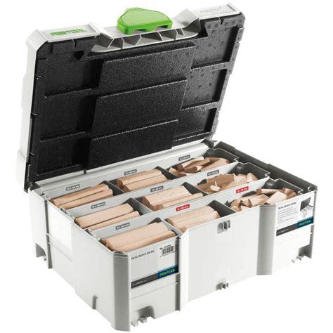 Festool Domino Xl Df 700 Cutter Tenon Assortment Systainer