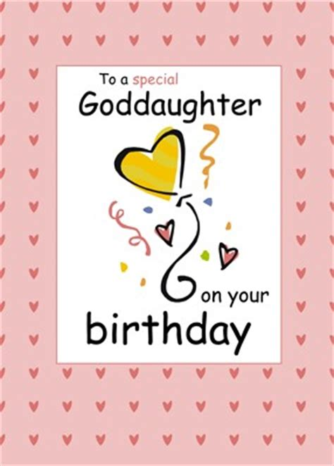 Happy Birthday Wishes For A Goddaughter Birthday Quotes For Goddaughter Quotesgram