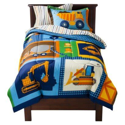 construction toddler bedding sets under construction bedding