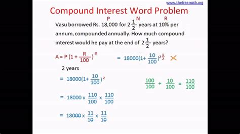 worksheets simple and compound interest word problems