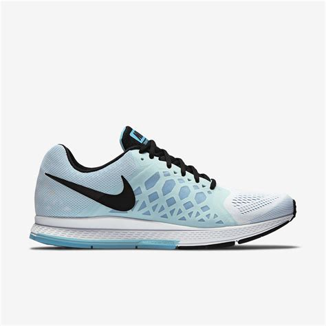 mens nike running shoes nike mens air zoom pegasus 31 running shoes white blue
