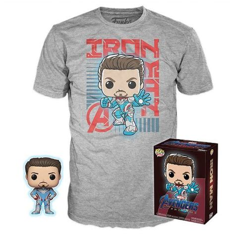 funko pop tee collectors box marvel avengers endgame