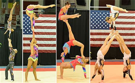 usa gymnastics national chions acrobatic gymnastics usa gymnastics usa gymnastics selects u s team for 2016