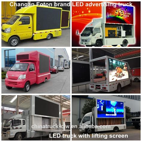 Lu Led Mobil Truk cn new teknologi truk mobile advertising led display