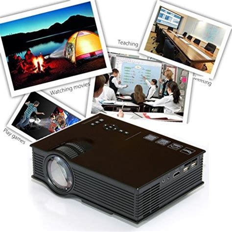 Mini Projector Uc40 odgear mini projector uc40 3d 1080p portable led projector with hdmi vga usb play for home