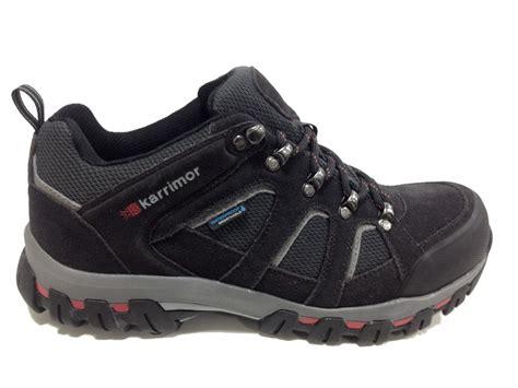 Karrimor Low Boots Black karrimor bodmin low iv weathertite shoe
