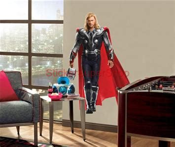Tokomonster Thor 3 Wall Decal Sticker Size 23 choose size the thor removable wall sticker
