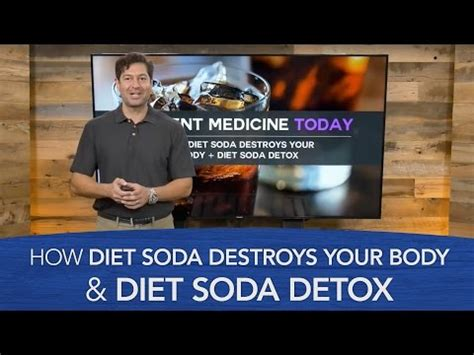 How To Detox Your From Drugs Reddit by How Diet Soda Destroys Your Diet Soda Detox We