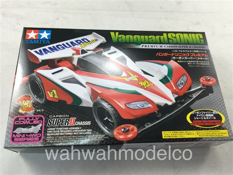 Vanguard Sonic 2 Carbon tamiya 19435 mini 4wd 1 32 jr vanguard sonic premium