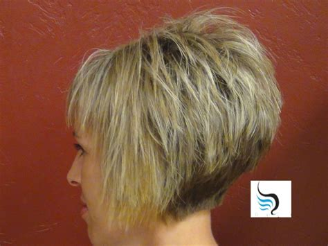 bob haircuts with a v fade in back short inverted bob hairstyles fade haircut