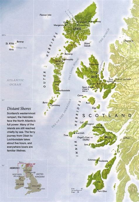 scotland mapping the islands maps islands and scotland on