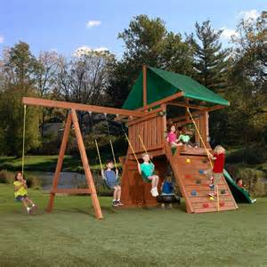Childrens Wooden Swing Sets How To Make An Outdoor Play Sets For Your Tips