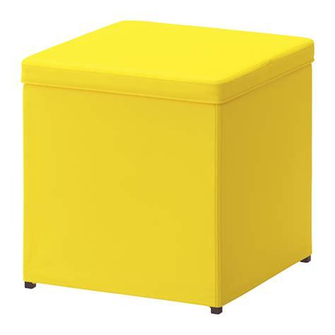 bosn 196 s repose pieds av rangement ransta jaune ikea