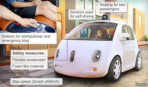 design of google car google self driving car jebiga design lifestyle