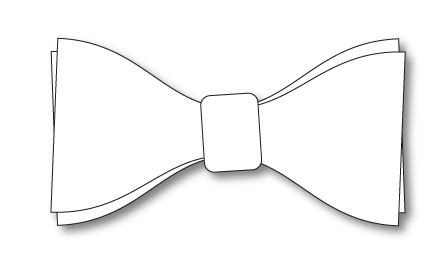 bow tie template printable printable bow tie templates to from shop