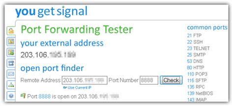 forward check test open forwarding for your router or computer