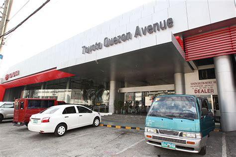 toyota quezon avenue announces new trunkline 554 2000