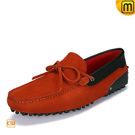 mens suede shoes loafers mens suede leather loafers shoes cw740041