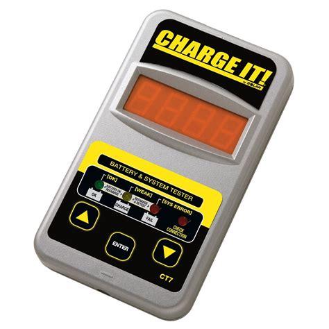 digital battery solar 12v digital battery and system tester ct7