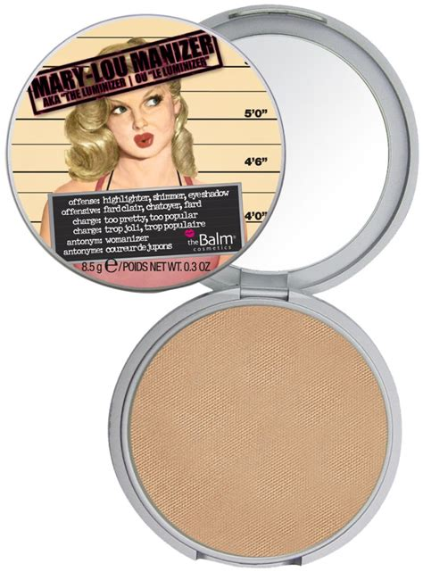 The Balm Manizer Highlighter ruby reviews lou manizer highlighter from the