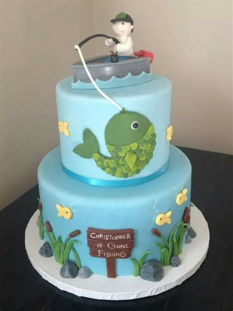 baby shower cake ideas for a baby boy