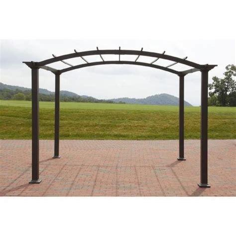 garden oasis pergola with canopy outdoor pergola steel 8 x 10 patio gazebo garden canopy