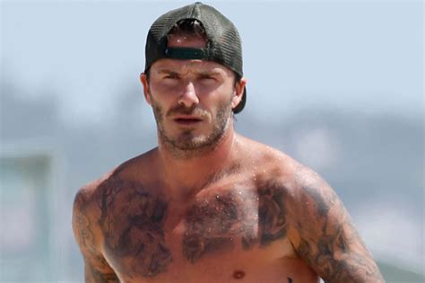romeo beckham tattoo mr ink redible david beckham reveals no33 in malibu