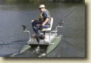 Mini pontoon fishing boats one man pontoon fishing boats