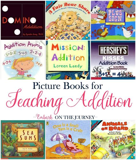 teaching math with picture books teaching addition with picture books embark on the journey
