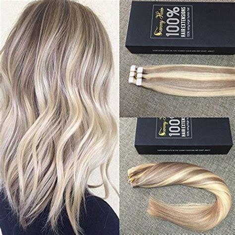 platinum and carmel hair extensions sunny 18 613 caramel blonde mixed bleach blonde highlight