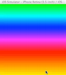 change colors ios how to change color of cagradientlayer like