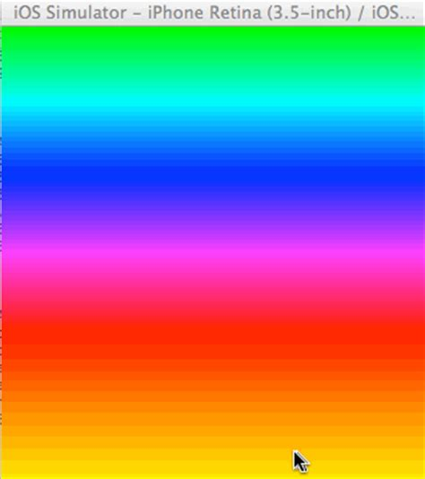 color transition ios how to change color of cagradientlayer like