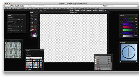 Sketch Online sketchpad beautiful pixelmator like html5 based online