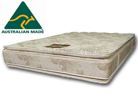 double bed pillow top leisuresleep double pillow top single innerspring mattress