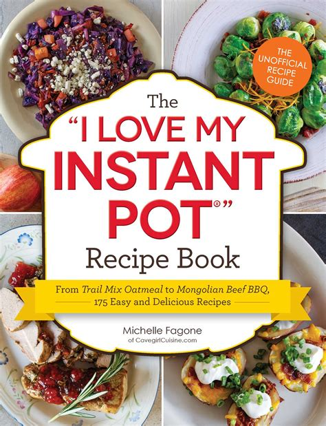 the i my instant pot the i my instant pot recipe book book by