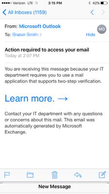 yahoo email verification required iphone two step verification suddenly required for mail apps
