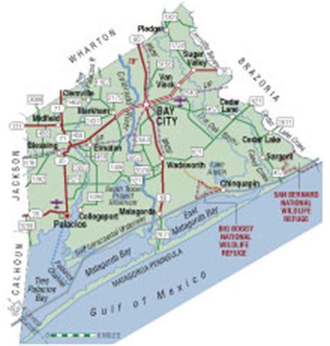 matagorda texas map matagorda county texas almanac