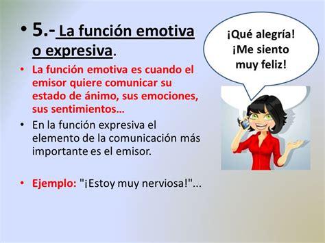 imagenes funcion emotiva o expresiva 191 qu 233 son las funciones del lenguaje ppt video online
