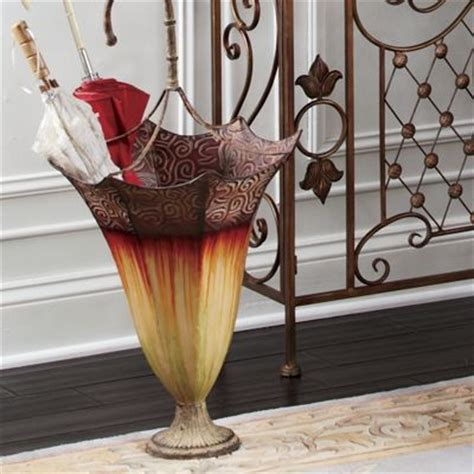 seventh avenue home decor madeira umbrella stand from seventh avenue db71229