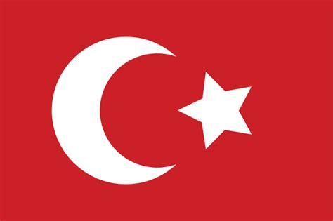 flag of ottoman empire file ottoman flag svg