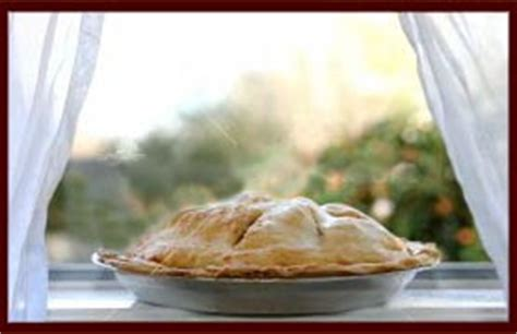 Pie On Window Sill Yum Perched On The Sill Apple Pies