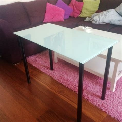 Glass Vanity Table Ikea Condition Glass Top Ikea Table Study Or Vanity For Sale In Greystones Wicklow From