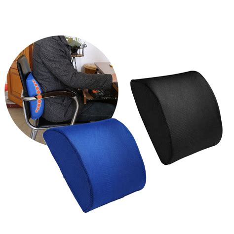 lumbar pillow for chair memory foam coccyx orthoped seat back support lumbar